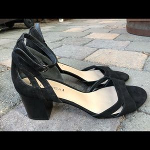 "Via Spiga ""Christa"" Suede Sandals, size 11"